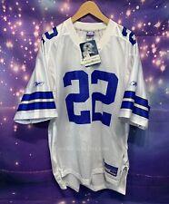NFL Dallas Cowboys E. Smith #22 Reebok Nwt Jersey Sz L Vintage