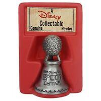 Vintage 1980's Epcot Center Pewter Bell Walt Disney World Park Spaceship Earth