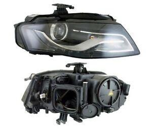 Fits Audi A4 Headlight Xenon LED LH Left Nearside Passengers 2008-2012