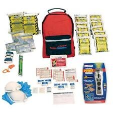 2-Person 3-Day Emergency Kit with Backpack Emergency Hand Crank Power Station