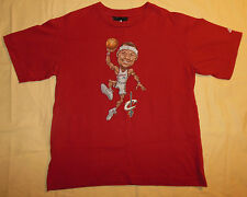 NBA Adidas LeBron James Cleveland Cavaliers Character T Shirt Youth L - Mens XS