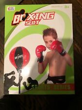 ToyVelt Punching Bag For Kids Boxing Set Includes Kids Boxing Gloves And