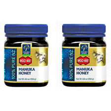 Manuka Health MGO 400 + Manuka Honey 100% Pure New Zealand 8.8 oz 2 PACK IHI