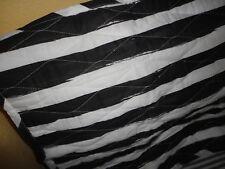 Martha Stewart Whim Different Strokes Black Stripe (1) Standard Pillow Sham