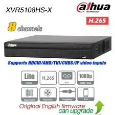 Dahua XVR5108HS-X 8CH Hybrid XVR DVR 5in1 H.265 P2P 1080p Digital Video Recorder