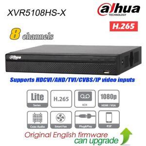 Dahua XVR5108HS-X 8CH Hybrid XVR DVR 5in1 H.265 P2P 1080p Digital Video Recorder