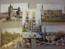 London Unposted Collectable Social History Postcards