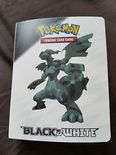 Pokemon Black & White Mini Card Folder 2011 Official Nintendo
