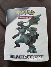 Pokemon Black & White Mini Card Folder 2011 Official Nintendo