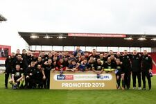 SHEFFIELD UNITED 2019 CHAMPIONSHIP PROMOTION PROFESSIONAL PHOTOGRAPH 12x8