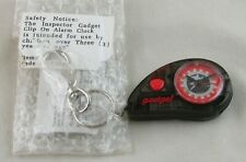 Vintage Disney Inspector Gadget Clip On Alarm Clock Kids New RARE