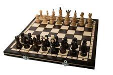Schach edles Schachspiel aus Holz Schachbrett Handarbeit k12  42 x 42 cm
