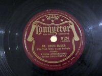 LOUIS ARMSTRONG St. Louis Blues / Basin Street Blues CONQUEROR 9124