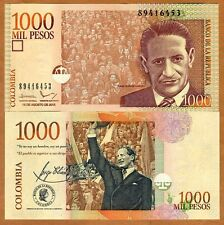 Colombia, 1000 (1,000) Pesos, 2015, P-456-New, UNC > replaced by a coin