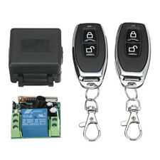 Wireless Remote Control Relay Switch 12V 1CH Receiver Module +2 RF Transmitter