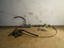 Variety of assorted stuff came off a MACK TRUCK Brake Switch  Hose Air Cylinder