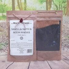 Nigella Sativa Seeds Powder/Black Seeds Cumin 50g - Health Embassy 100% Natural