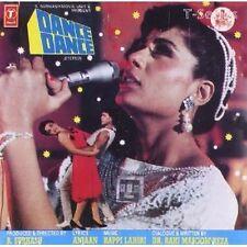 DANCE DANCE (MITHUN CHAKRABORTY) ~ BOLLYWOOD AUDIO CD