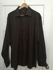 George Cotton Blend Long Formal Shirts for Men