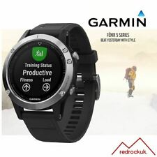 Garmin Fenix 5 Multisport GPS Sports Watch Integrated HRM - Silver