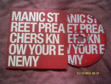 MANIC STREET PREACHERS-KNOW YOUR ENEMY 6 TRK PROMO CD