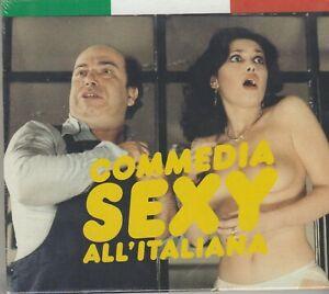 VARIOUS: COMMEDIA SEXY ALL'ITALIANA (2007) CD+LIBRETTO OST NUOVO SIGILLATO