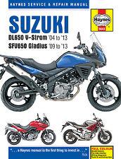 Haynes Manual 5643 - Suzuki DL650 V-Strom & SFV650 Gladius '04> servicing/repair
