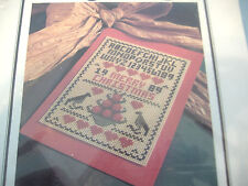 COUNTED CROSS STITCH CHRISTMAS KIT-CHRISTMAS CARD
