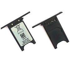 100% Genuine Nokia Lumia 800 SIM card slot tray holder slide cover door black
