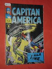 CAPITAN AMERICA- n°54-  prima SERIE 1°- DEL 1975 -EDIZIONI CORNO-  RARO