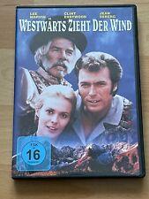 WESTWÄRTS ZIEHT DER WIND mit Clint Eastwood DVD