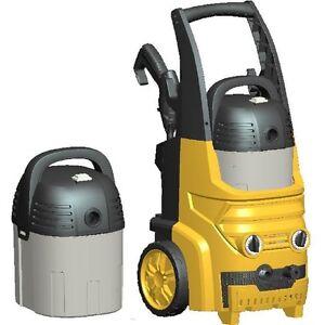 Hochdruckreiniger und abnehmbarer Nass- und Trockensauger Kombigerät 2500W