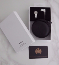NEW & SEALED Ministry of Sound In-Ear Headphones Remote Tangle-Free iOS RRP £59