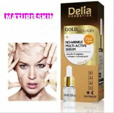Delia® MATURE SKIN FACIAL SERUM Concentrate Gold&Collagen&Hyaluron,Anti-Age 10ml