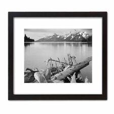 Historic Art Print Photo ANSEL ADAMS: Jackson Lake & the Grand Tetons Mountains