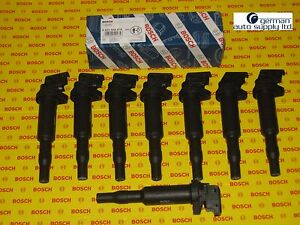 BMW 8 Piece Ignition Coil Set - BOSCH - 0221504470, 00044 - NEW OEM Coils