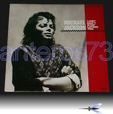 "MICHAEL JACKSON ""I JUST CAN'T STOP LOVING YOU"" RARE 12"" HOLLAND - MINT"