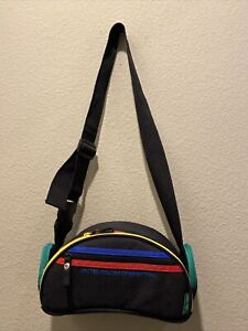 United Colors Of Benetton Vintage Camera Bag Fanny Pack