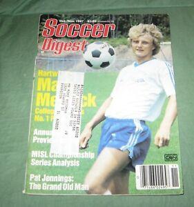 Soccer Digest Magazine Oct./Nov 1987 Mark Mettrick College Soccer's Best ++