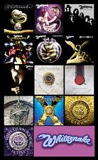 "WHITESNAKE album discography magnet (4.5"" x 3.5"")"