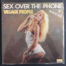 "Village People – Sex Over The Phone (Vinyl 12"", Maxi 45 Tours)"