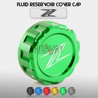 Rear Brake Fluid Reservoir Cover Cap For Kawasaki Z1000 Z1000SX Z750 800 Z900