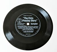 "The Elvis Presley Story Sampler 6"" flexi-disc Eva-Tone 1977 Candlelite Music NM!"