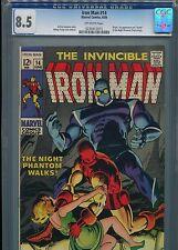 Iron Man #14  (1st Night Phantom)  CGC 8.5  OWP