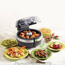 Tefal Actifry Fryer Black Low Fat 99% Reduct 1kg Hot Air Healthy Kitchen Cooker