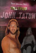 John Tatum Shoot Interview Wrestling DVD,  WCCW UWF
