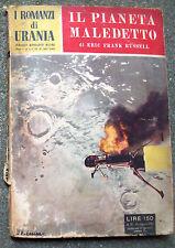 1953 'I ROMANZI DI URANIA' n° 16 'IL PIANETA MALEDETTO' DI ERIC FRANK RUSSELL