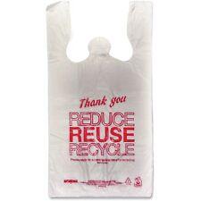 "Unistar Plastics, Llc Thank You Bags, 47mil, 11-1/2""x6-1/2""x21-1/2"", 1000/Ct, Rd"