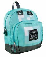 "Minecraft Diamond Mini 13"" Children's Backpack Kids School Bag Rucksack"