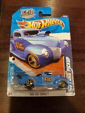 2011 Hot Wheels  '40 Ford Pickup  #146/244 [Blue]  HW Hot Rods